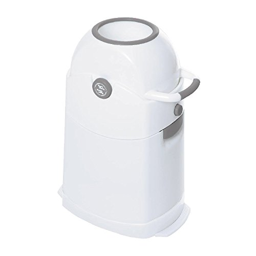 *Geruchsdichter Windeleimer Diaper Champ regular silber – für normale Müllbeutel*