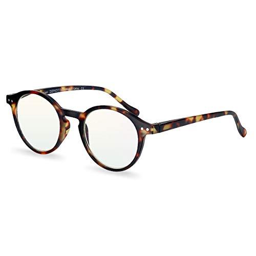 ZENOTTIC Gafas Lectura Bloqueo Luz Azul