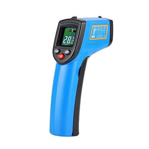 Tonysa Digitales Infrarot Thermometer, Non-Contact IR Thermometer Handheld Wassertemperatur IR Pistole mit Signalverstärker/LCD Display für Heißwasserrohre -