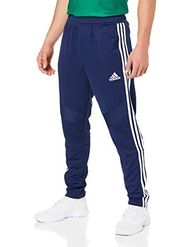 adidas Herren TIRO19 TR PNT Sport Trousers, Dark Blue/White, L