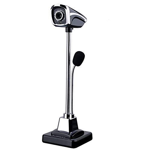 YOMYM Mini Cámara HD Webcam PC Voice Micrófono