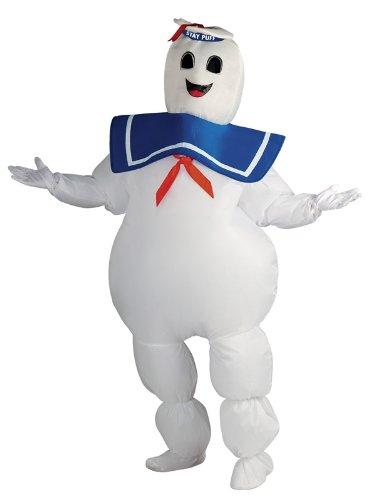 Ghostbusters Kostüm - Marshmallow Man für Erwachsene, (Kostüme Marshmallow Ghostbusters Man)