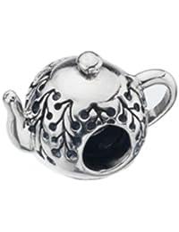 Virtue Silver Teapot Bead