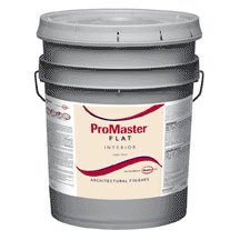 glidden-mpn5300-05-promaster-architectural-interior-latex-flat-paint-white-5-gallon-by-glidden