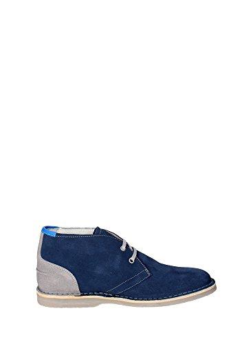 Docksteps DSE102914 Chaussures À Lacets Homme Suède Bleu Bleu - Bleu