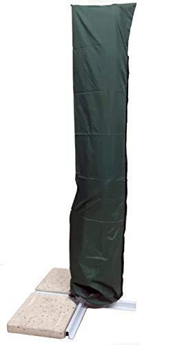 Michele sogari copertura per ombrellone 3x4 a braccio decentrato - sacca protettiva idrorepellente (verde poliestere)