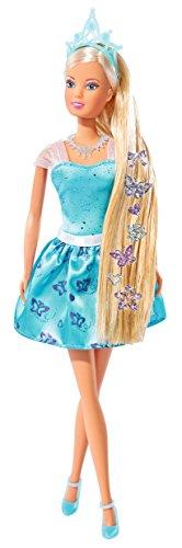 Simba 105737106 - Steffi Love Puppe als Prinzessin mit Haar-Tattoos