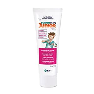 Kin Fluor Kin Junior Gel Dentaire Fraise 75ml