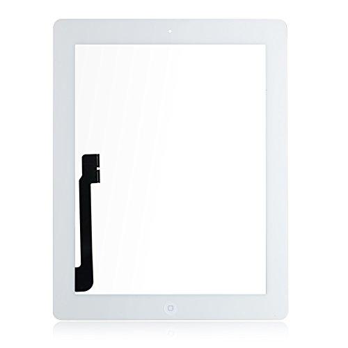Weiß Ersatz Digitizer Touch Screen Panel Front Glas + Werkzeug und Kleber für Apple iPad 3 3. A1403 A1430 A1416 3 G/WIFI Version