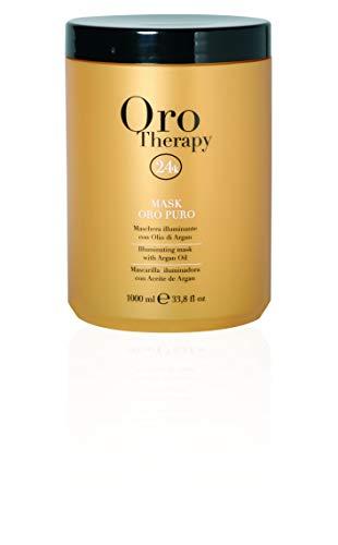 Scheda dettagliata Maschera Oro Puro 1000 ml Con Cheratina ed Argan - Fanola Oro Therapy 24k