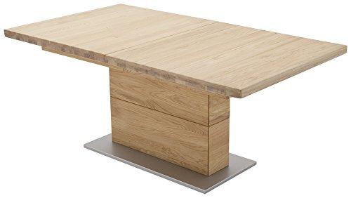 Robas Lund, Tisch, Esszimmertisch, Corato A, Wildeiche/Massivholz, 140 x 90 x 77 cm, COR14AWE