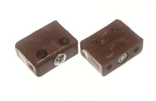 Möbel AnschlussfugenKd Block- Knockdown Montage Brown ( Packung mit 100)