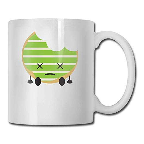 Daawqee Becher Coffee Mug 11oz Funny Cup Milk Juice Or Tea Cup Sad Doughnut Birthday (Mittelstücke Den Für Ruhestand)