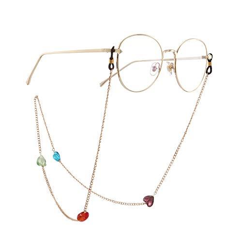 Eyewear Kette Retainer Multicolor Perlenbrillen Kordel Lanyard Chain