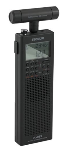 Tecsun PL-365 Mini DSP SSB Weltempfänger mit Rahmenantenne