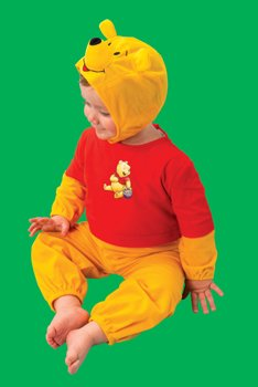 Kinder Disney Kostüm Winnie Pooh der Bär. Größe: fürKinder von 2-3 Jahren. Winnie Puuh Bärenkostüm für - Pooh Der Bär Kostüm