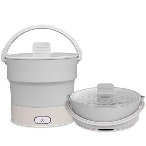 6L faltbare Reise Wasserkocher Slow Pot Multifunktions Wasserkocher für Reise, Hotel, Büro, Zuhause ()