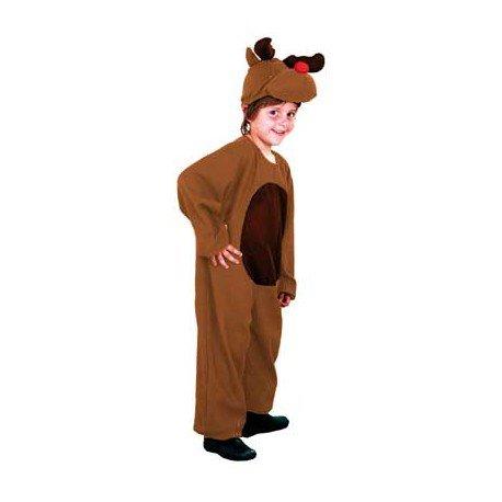 Carnevale costume da renna bambino 5–6anni