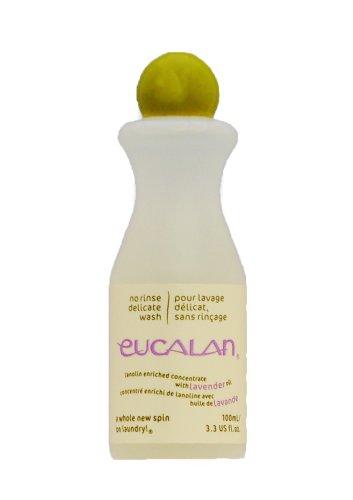 Pflegende Handwäsche (Eucalan 0666884100528 pflegendes Feinwaschmittel, Lavendel, 100 ml für Handwäsche)