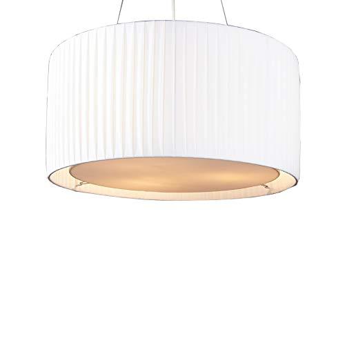 Wei/ß Royal Designs Inc DBS-724-18WH Series Royal Designs Empire English Plissee Basic Lampenschirm 11 x 18 x 12 cm