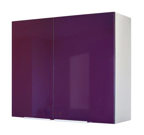 Berlenus CP8HA - Mueble Alto de Cocina (2 Puertas, 80 cm), Color...