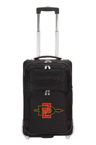 ncaa-san-diego-state-aztecs-denco-21-inch-carry-on-luggage-black