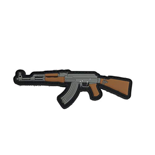 TACOPSGEAR AK-47 AR - Rubber Patch - PVC Klett Kalaschnikow Airsoft Fun