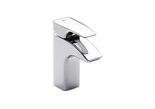 Roca Thesis - grifo monomando para lavabo con tragacadenilla . Griferías hidrosanitarias Monomando. Ref. A5A4750C00