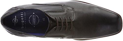 Bugatti 311458014000, Derbys Homme Noir (Schwarz)