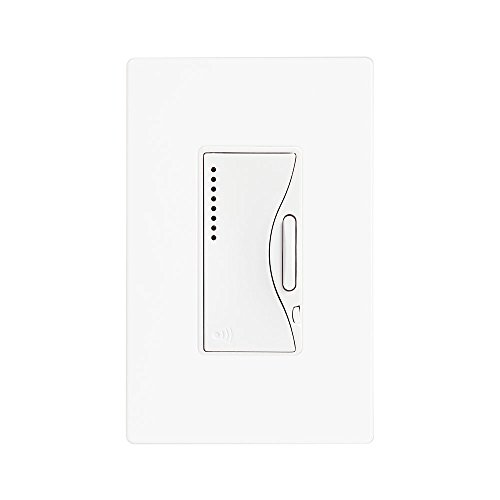 Cooper Wiring Devices RF9540-NAW Aspire Single-Pole Multi-Location Master Dimmer Light Switch, Alpine White Finish by Cooper Wiring Devices (Single Wiring Cooper)