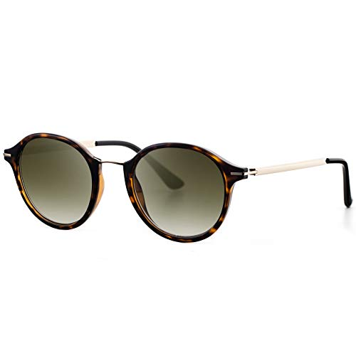 Avoalre Sonnenbrille Damen Retro Sunglasses, 2019 Trend Vintage Style Verlaufsglas Metallbügeln 100{92eea24223f55105213952d82d7da8dda55a0cfa672df7bc0b4fe3005ae43cbc} UV400 Schutz (Retro 1)