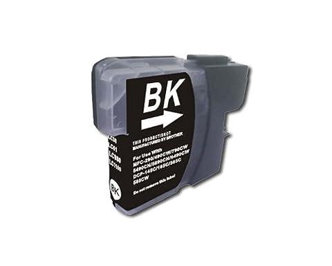 10 Druckerpatronen kompatibel black Brother LC980 DCP 195C