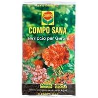 Compo - Sustrato especial para el cultivo de geranios, 80litros