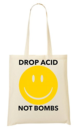 Drop The Acid Not Bombs Smile Sac Fourre-Tout Sac À Provisions