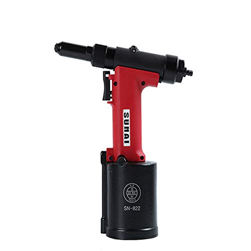 Air Rivet Gun Heavy Duty Pneumatic Hydraulic Rivet Tool-Sturdy Well Made/Easy to Put Together and Operate Suitable for Home Improvement/Car Repair/Factory/Processing. -