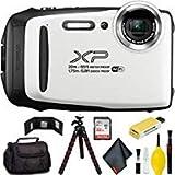 FUJIFILM FinePix XP130 Digital Camera (White) Pro Bundle