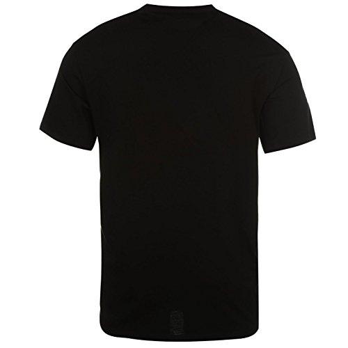 ONeill Nineteen 52 Herren Kurzarm T Shirt Rundhals Baumwolle Regular Fit Black Out