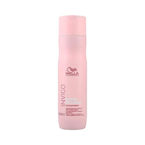 Wella Professionals Invigo Recharge Color refreshing Shampoo Cool Blonde, 250 ml -