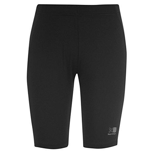 Karrimor Damen Shorts Kurze Laufhose Sport Tight Fitness Jogging Hose Sporthose Schwarz 10 (S) -