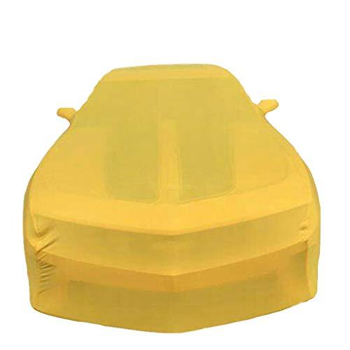JIJIHAO Guajian (Für Renault-Serie) benutzerdefinierte Version gelb Auto Abdeckung Samt Stretch Kleidung (Keller, Auto Show, Autohaus) chezhao (Farbe : Kwid)