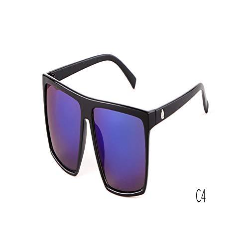FGRYGF-eyewear2 Sport-Sonnenbrillen, Vintage Sonnenbrillen, NEW Oversized Square Sunglasses Men Brand Designer Thin KUNSTSTOFF Frame Resin Lens Male Black Sun Glasses Shades OM320 C4