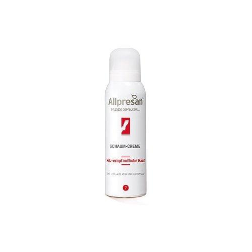 Allpresan Fuß Spezial Nr 7 Schaum-Creme, für pilz-empfindlichen Füße, 125 ml (Vera Aloe Pilz)