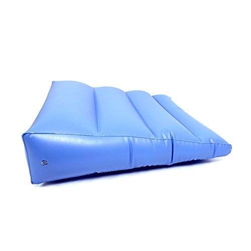 Aufblasbares Anti-Dekubitus-Kissen Für Den Hinteren Beinfuß Ferse Nacken Bett Patienten Dreh Polster Dreieck Altenpflege Matte,Blue - Blues Dreieck