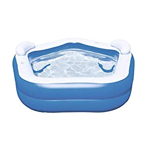 Bestway 54153 – Piscina Hinchable Infantil Family Fun 213x207x69 cm