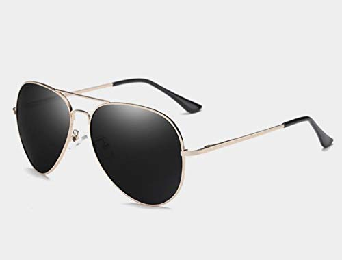 Sonnenbrillen Gläser 150 Mm Oversized Mens Polarisierte Sonnenbrille Schwarz Aviation Sonnenbrillen Für Mann, Der Polarisierende Sonnenbrille Uv400 Pilot Gold Frame