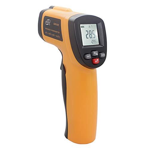 Zmm senza contatto digitale ir laser termometro a infrarossi,-50 ℃ ~ 550 ℃-58 ° f ~ 1022 ° f per adulti/cucina/automotive/industriale/lab