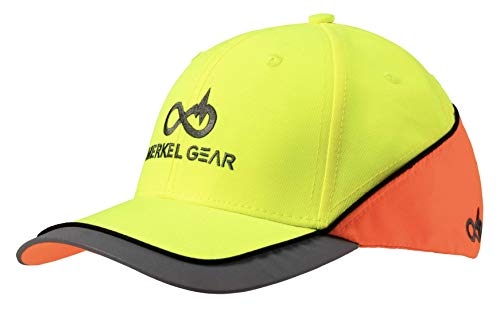 Merkel GEAR High-Vis Yellow Blaze Orange Cap Signalmütze Signalband