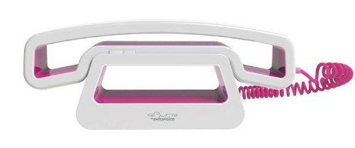 Swissvoice CH01 schnurgebundenes ePure-Handteil an Mobiltelefon, PC, Tablet pink