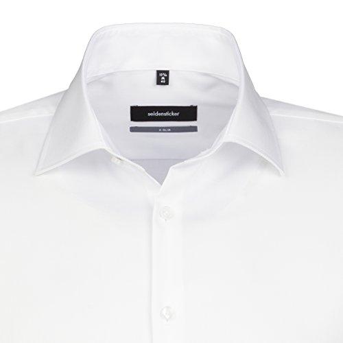Seidensticker -  Camicia classiche  - Classico  - Maniche lunghe  - Uomo Bianco (1)