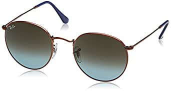 ray ban unisex sonnenbrille round metal ray ban amazon. Black Bedroom Furniture Sets. Home Design Ideas